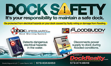 Dock Lifeguard - prevent electric shock drowning!